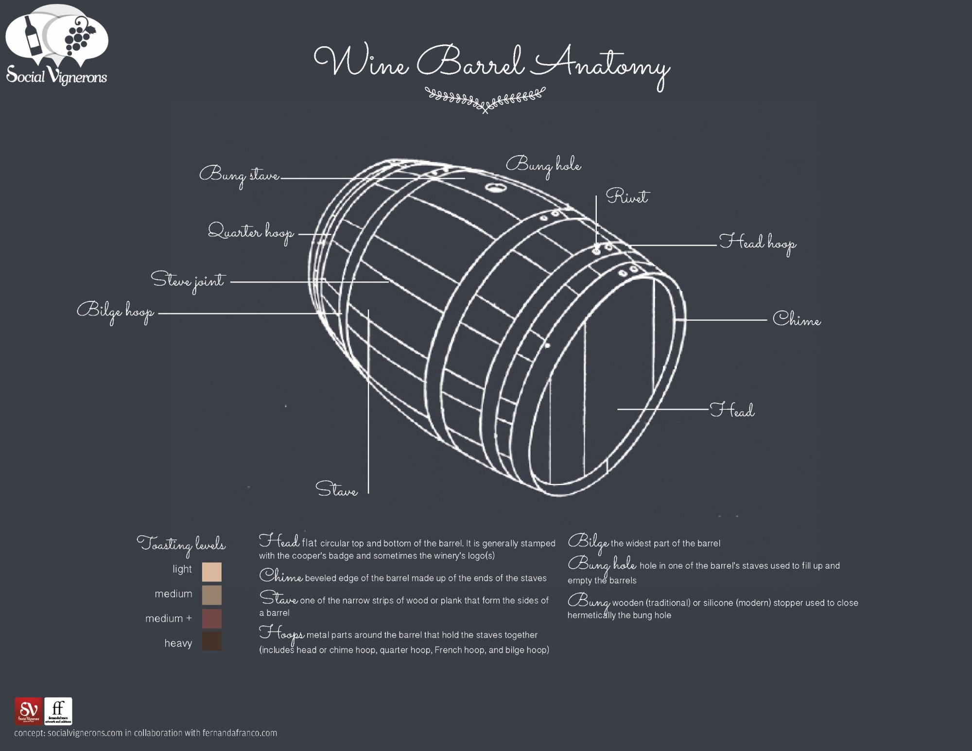 Anatomy of a Wine Barrel